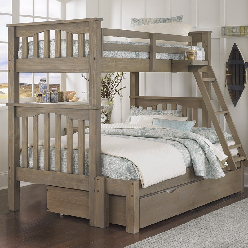 Highlands Harper Twin Over Full Bunk Bed Free Shipping
