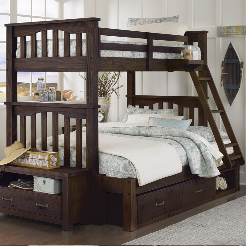 The Highlands Harper Bunk Bed from NE Kids is a comfortable bed
