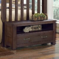 Highlands Dressing Bench in Espresso