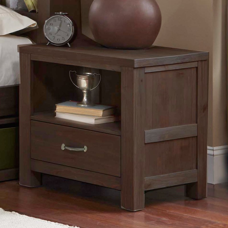 100 bookcase nightstand bookcases wood metal and glass crat
