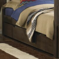 NE Highlands Trundle Bed Espresso