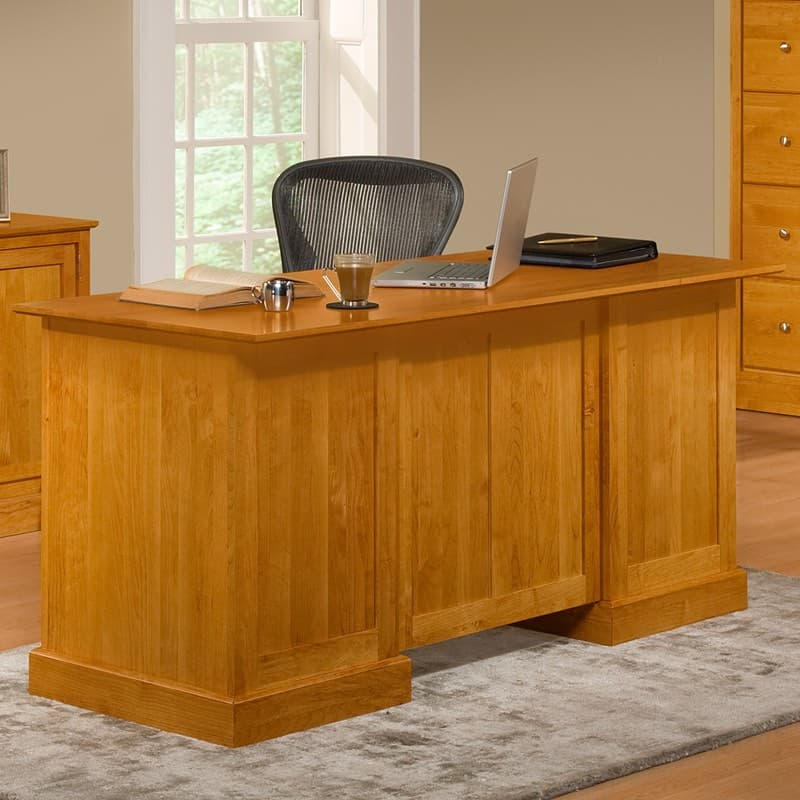 Alder Shaker Executive Office Desk