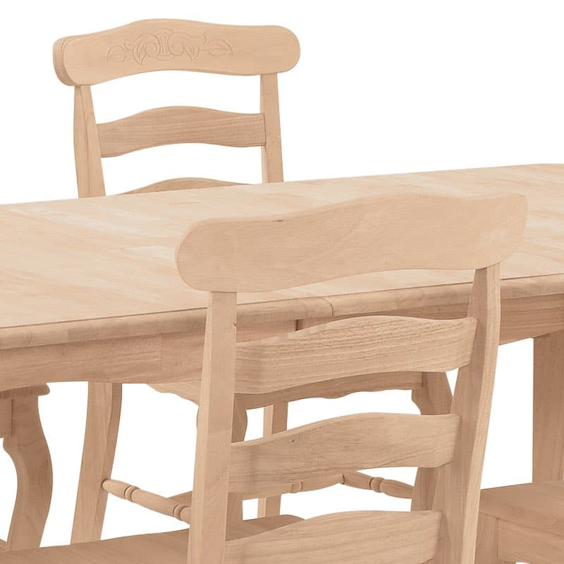 Country French Wood Dining Set : T 4060XB 03 from www.furnitureintherawtx.com size 800 x 800 jpeg 37kB