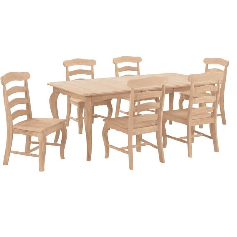 country french wood dining set. Black Bedroom Furniture Sets. Home Design Ideas