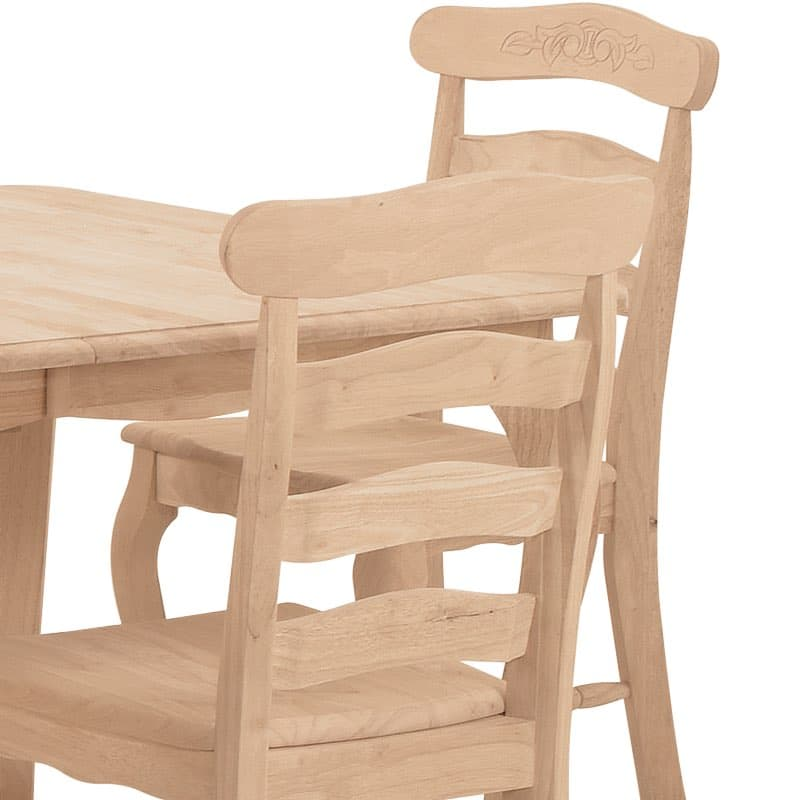 Country French Ladderback Dining Chair