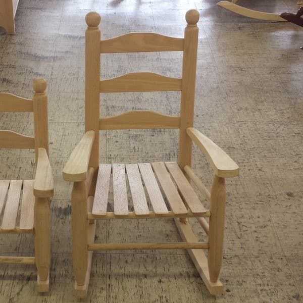 Youth Rocker Furniture In The Raw