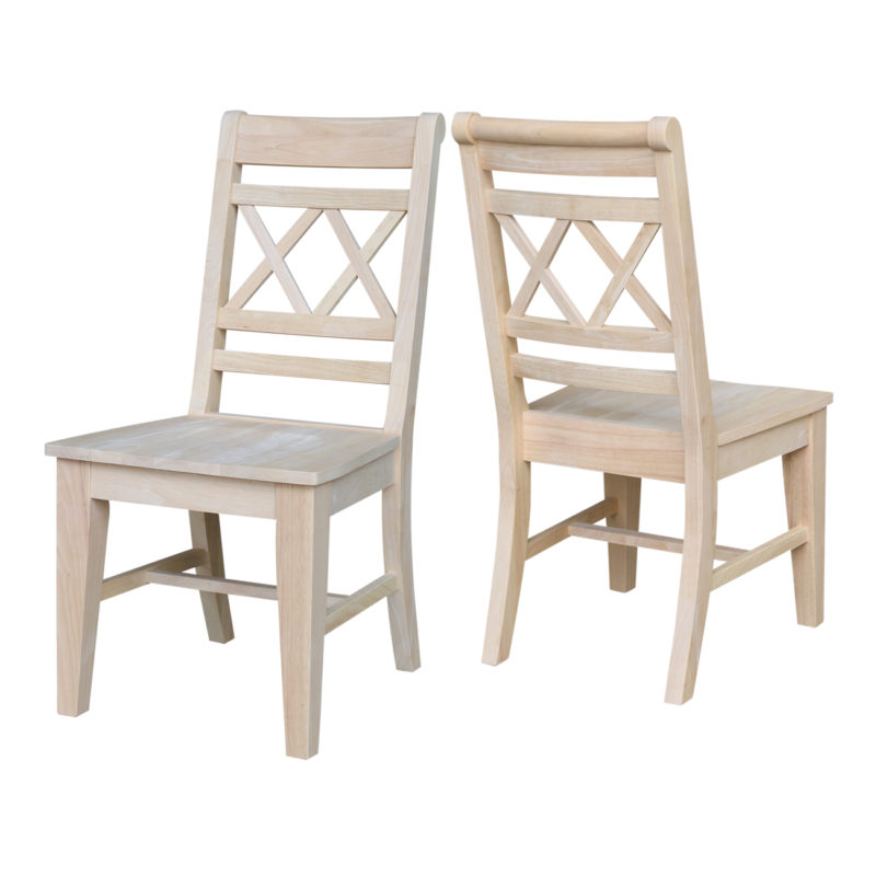 The Canyon Double Xx Back Dining Chair Is Comfortable And