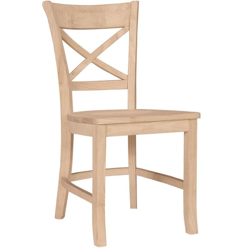 The Charlotte X Back Dining Side Chair Is A Small Cafe Chair