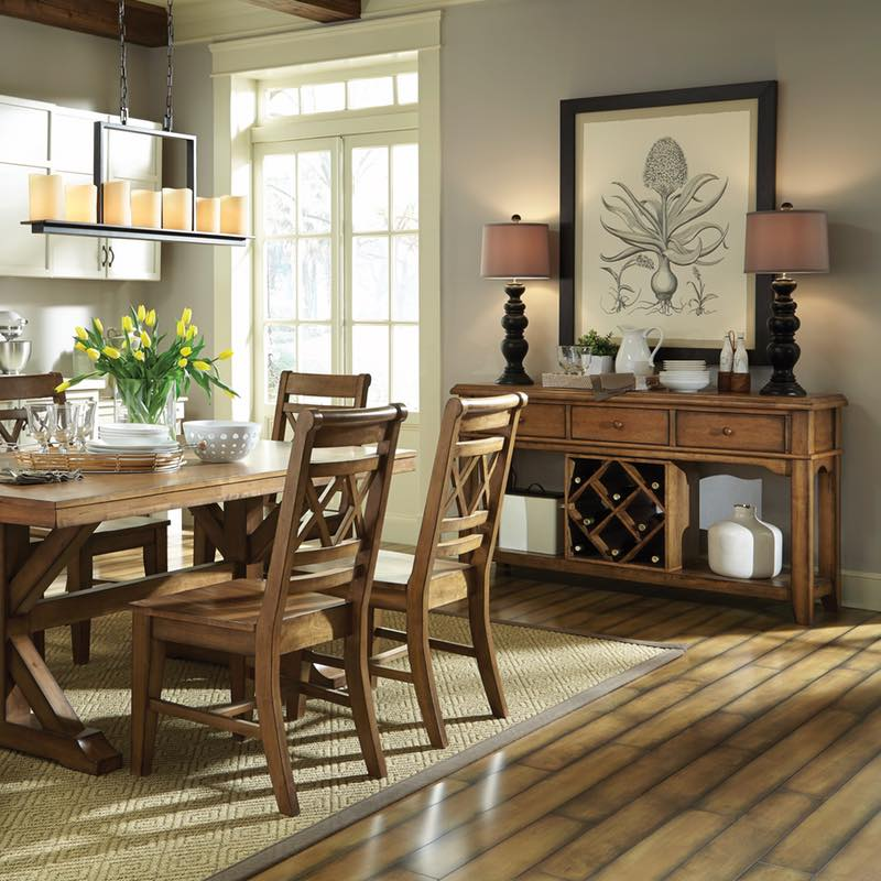 enchanting dining room server