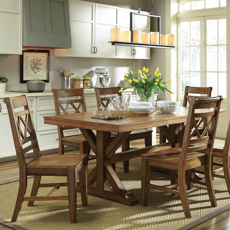 Marvelous Canyon Solid Top Dining Table
