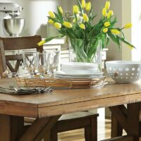 Canyon Solid Top Dining Table