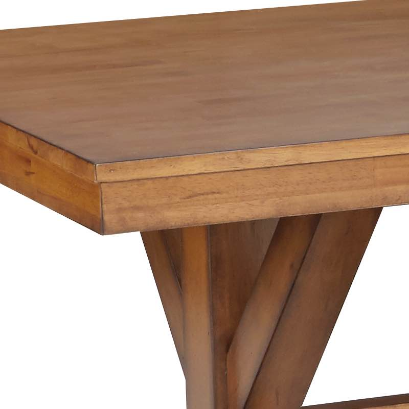 Canyon Pecan Solid Top Dining Table