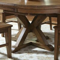 Canyon Extension Pedestal Dining Table