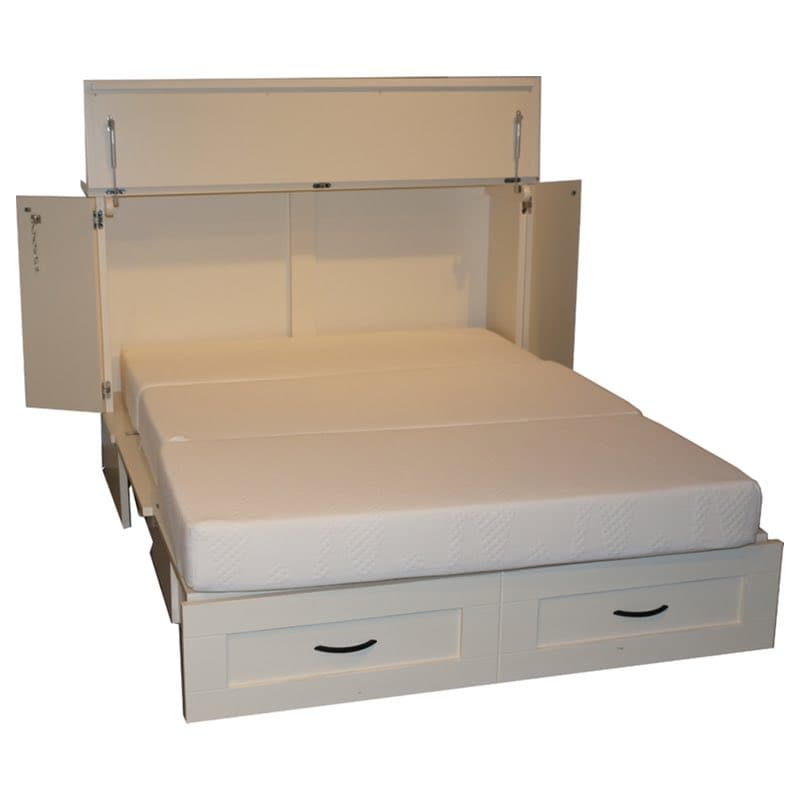 Town and Country Cabinet Bed : 207ctr white from www.furnitureintherawtx.com size 800 x 800 jpeg 24kB