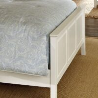 Lancaster White Bed Footboard