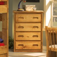 Trendwood Wrangler Bunkhouse Chest with four drawers