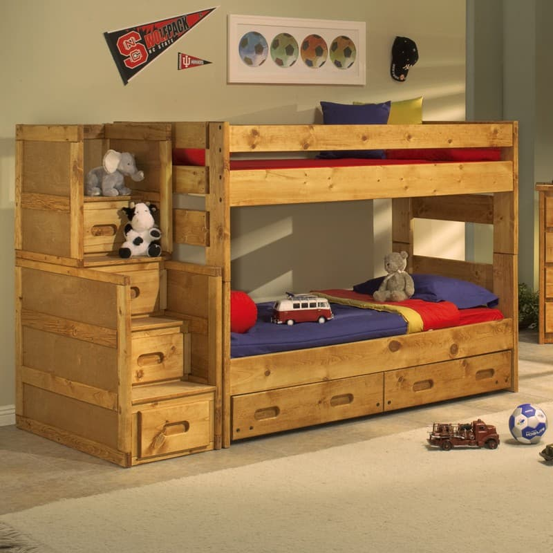 Trendwood Wrangler Bunkhouse Bunk Bed