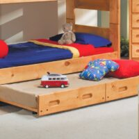 Trendwood Wrangler Bunkhouse Bunk Bed underbed