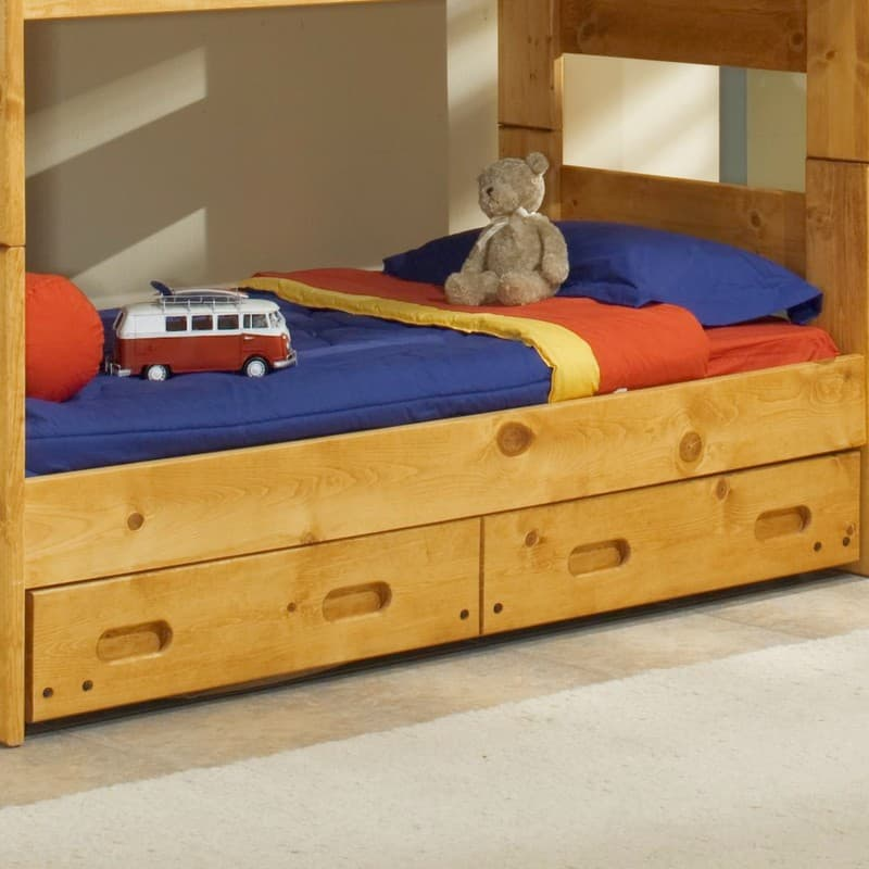 Trendwood Wrangler Twin Bunk Bed Bedroom Collection