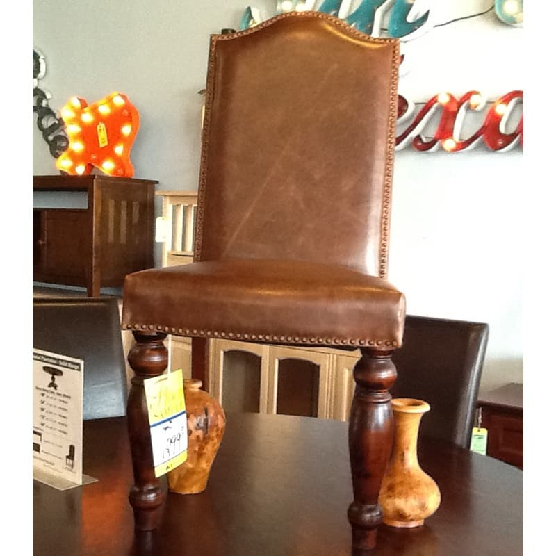 Leather Chair Furniture In The Raw