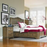Whittier Stonewood King Bedroom Set