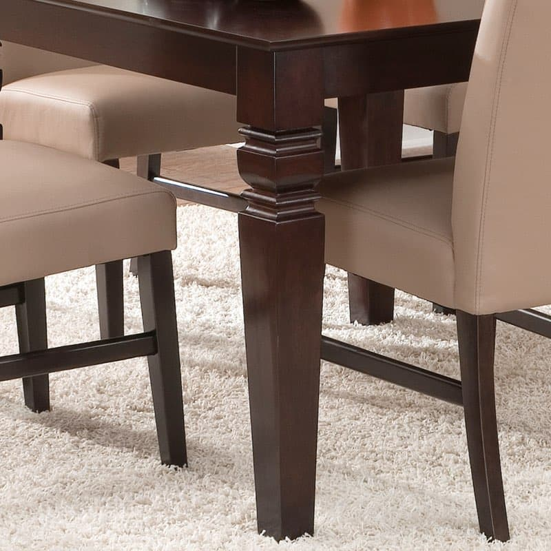 Java dining table legs furniture in the raw for Furniture in the raw