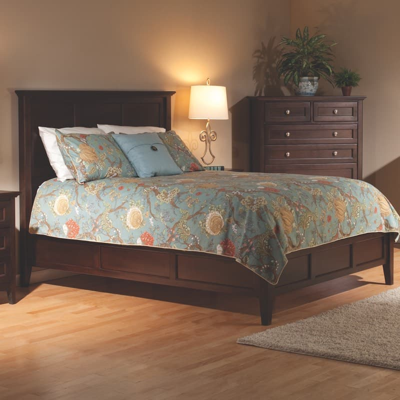 Whittier Wood Mckenzie Bed Free Shipping