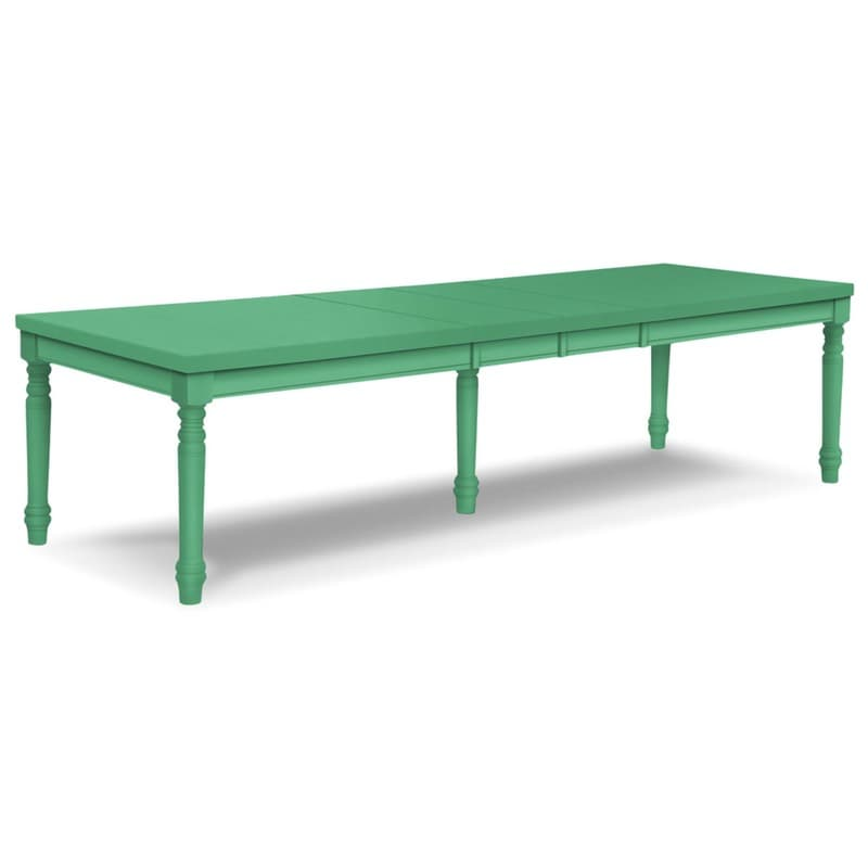 Traditional extension dining table for Peacock coffee table