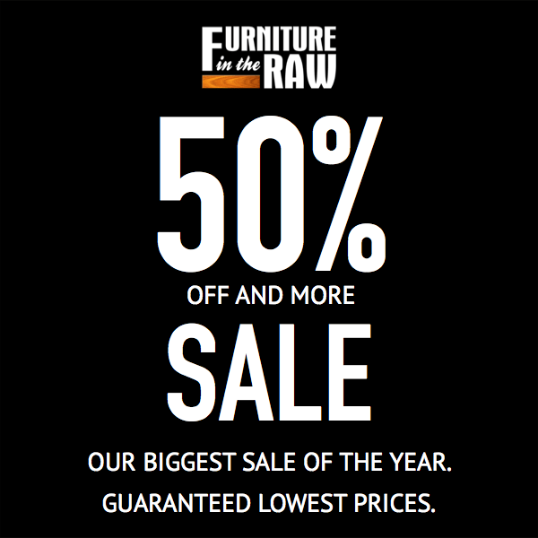 Annual 50% Off an More Sale