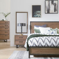 2571RLN Bryce Panel Bed by Whittier