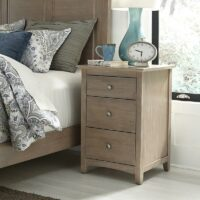 BD09-7003 Lancaster Weathered Grey Nightstand
