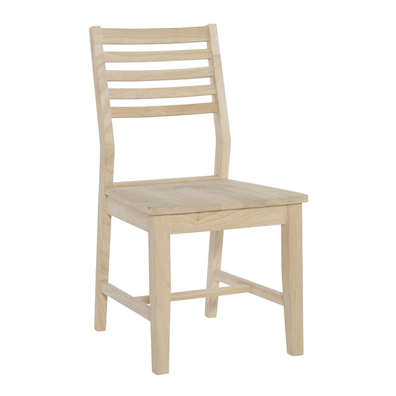 c-4 aspen ladder back side chair
