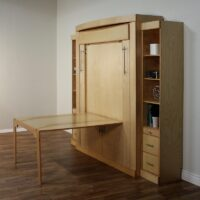 Euro Deluxe Table Murphy Bed
