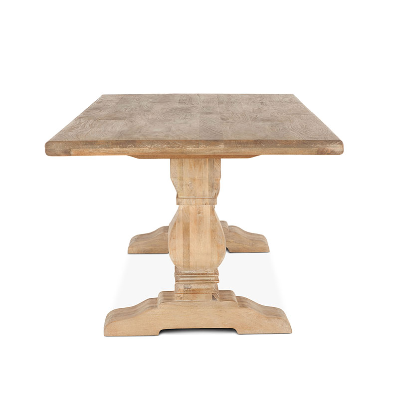 The San Rafael Dining Set Features An 84 Inch Table With