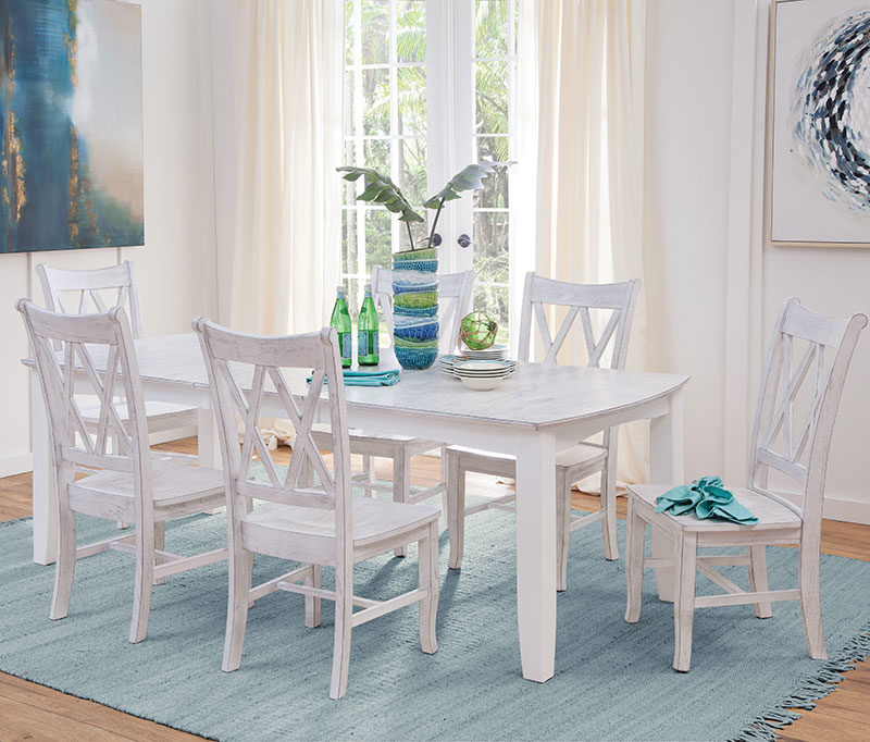 Hampton Dining Bow End Table T128-4072XBC_C28-220B- Table with 1-leaf