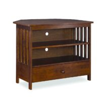 John Thomas Mission Corner TV Stand