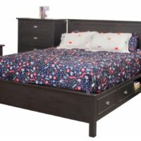 Winfrey storage bed