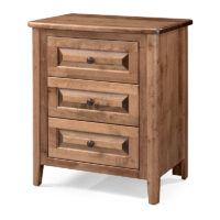 archbold 4023 3 Drawer Nightstand