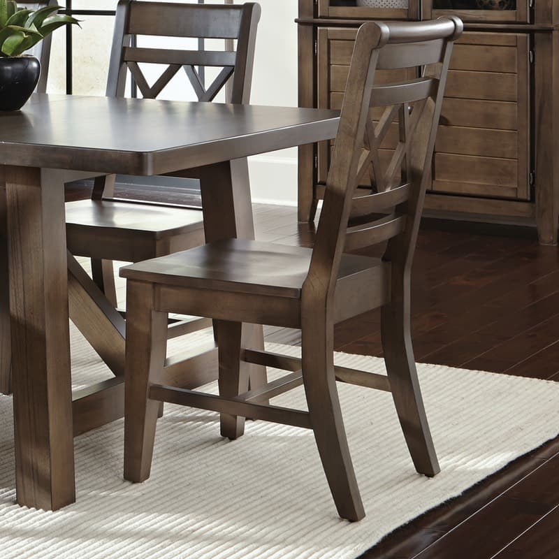 John Thomas Canyon Double X Back Dining Chair Free Shipping