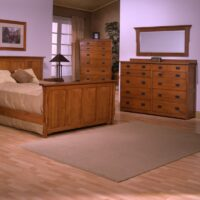 Trend Manor Mission Panel Bedroom Set