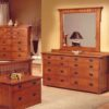 Trend Manor Mission Spindle Bedroom dresser.