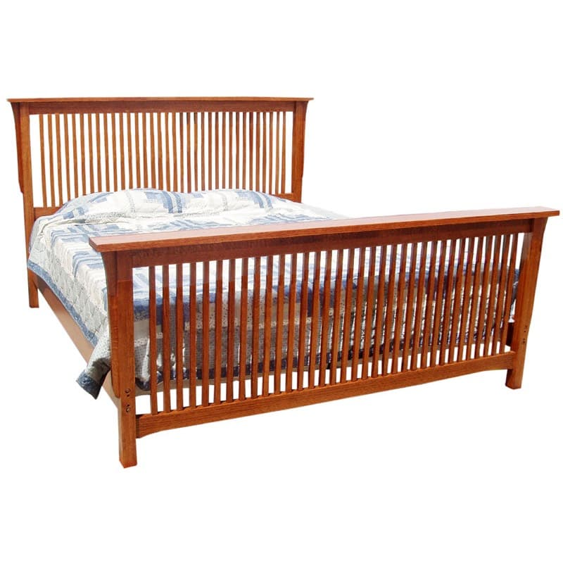 Trend Manor Queen Mission Spindle Bed
