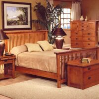 Trend Manor Mission Spindle Bedroom