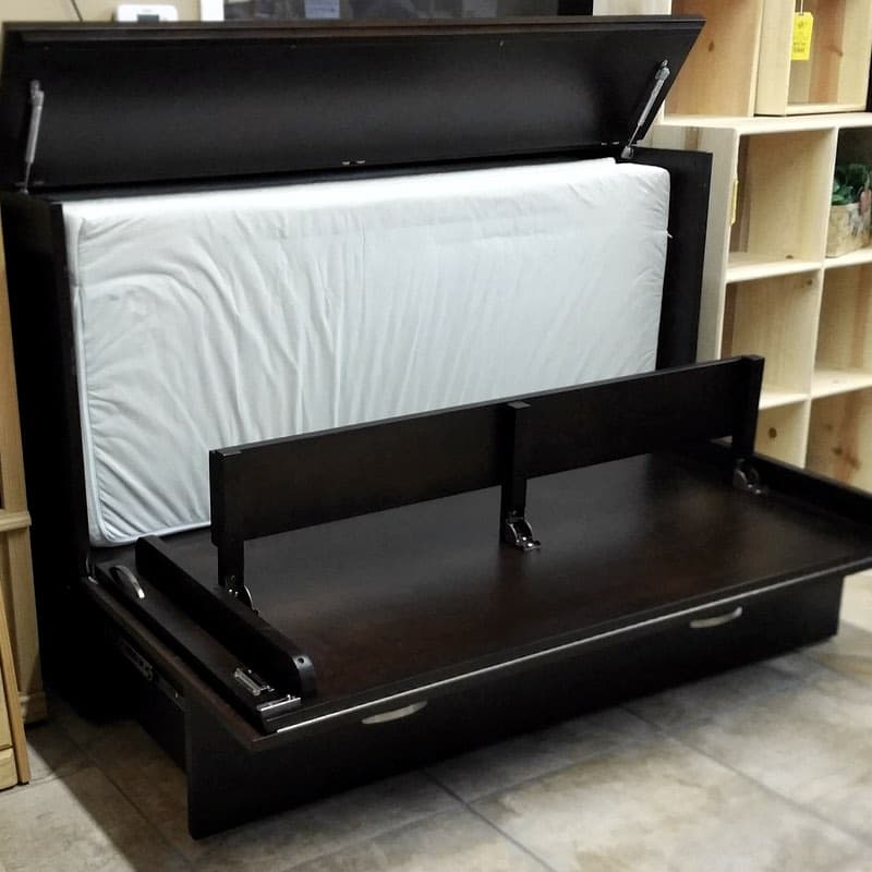 Queen Size Stanley Cabinet Bed Close Out