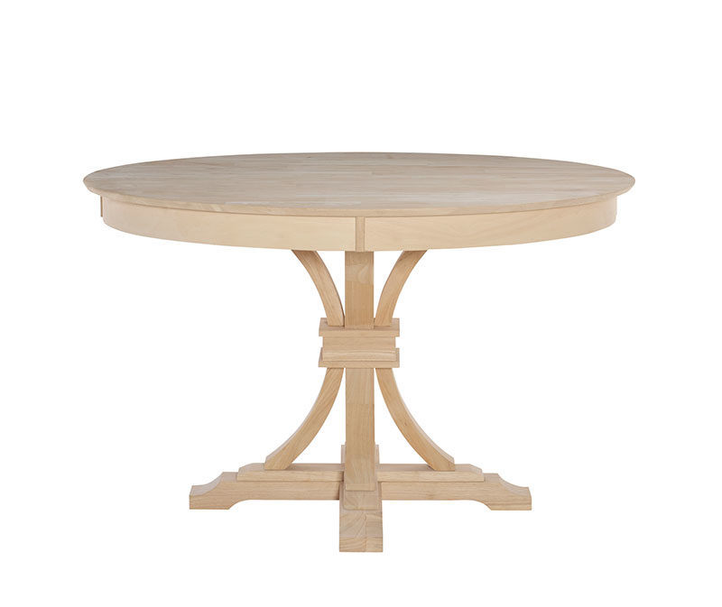 Whitewood 48 round kitchen table free shipping for 52 kitchen table