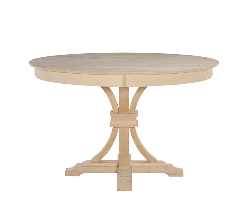 Whitewood 52 round kitchen table free shipping for Table 52 reviews