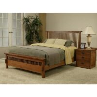 Trend Manor Mission Spindle Bed