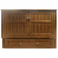 Daisy Cabinet Bed Black Walnut by Night and Day