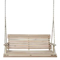 4' porch swing with chains