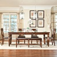 Kingston Dining Set with Bench